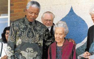 Mandela and Mrs Verwood