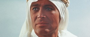"Stage and Screen. Personalities. pic: circa 1962. Irish born actor Peter O'Toole as he appeared in the film ""Lawrence of Arabia""."