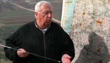 National Infrastructure Minister Ariel Sharon maps out December 5 his vision of an Israeli security ..